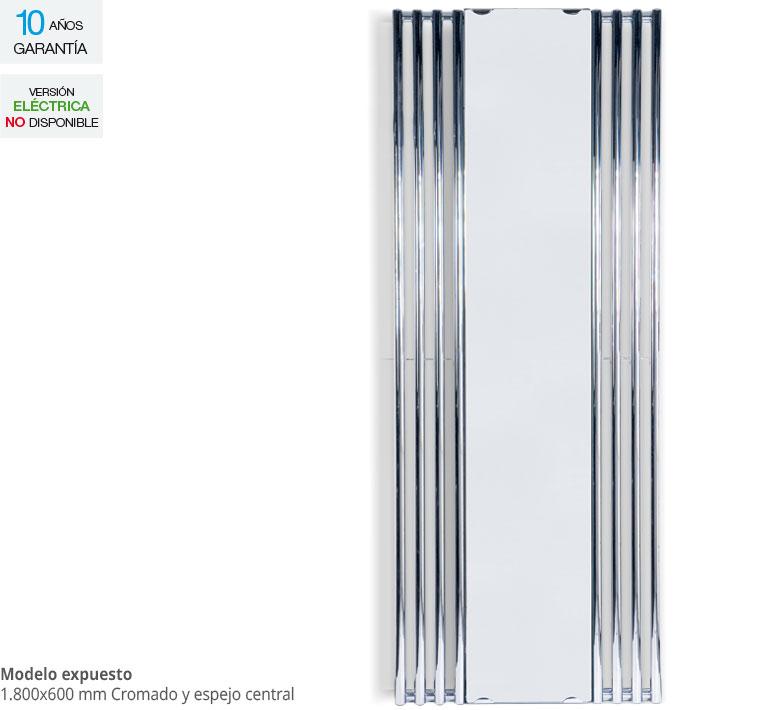Radiador Zeta Series Tubon Espejo