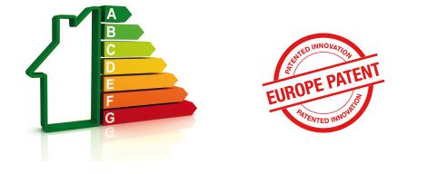 Sello Euro patent. Eficiencia energética