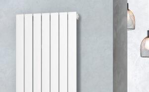 detalle radiador zeta series plain vertical